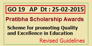 GO 19 AP Pratibha Award Promote Quality and Excellence in Education for SSC Meritorious Students  Based on GPA