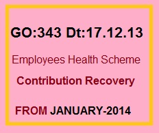GO.331 Health cards recovery of contribution from Salaries