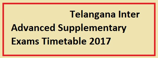 TS Inter Exams March 2017 Schedule  bie.telangana.gov.in, AP Inter 1st Year, 2nd Year Exams March 2017 Time Table